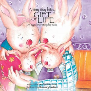 A tiny itsy bitsy gift of life, an egg donor story for twins
