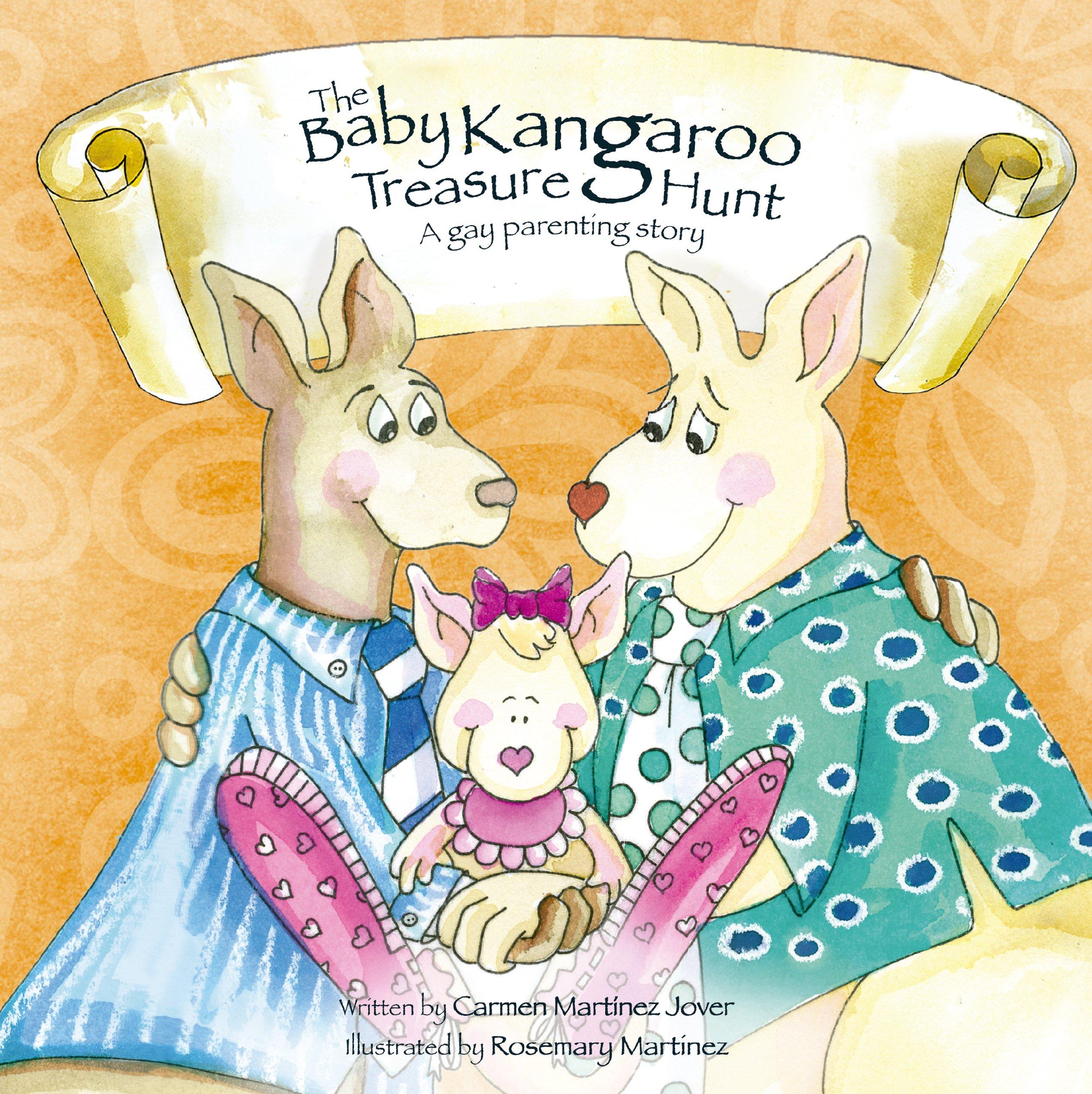THE BABY KANGAROO TREASURE HUNT, a gay parenting story